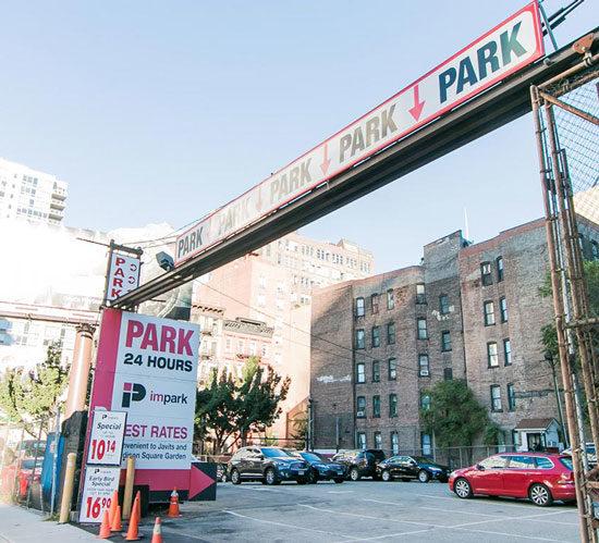new york parking impark. Black Bedroom Furniture Sets. Home Design Ideas