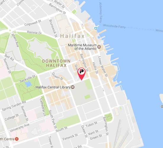 Halifax Parking Impark - Where is halifax