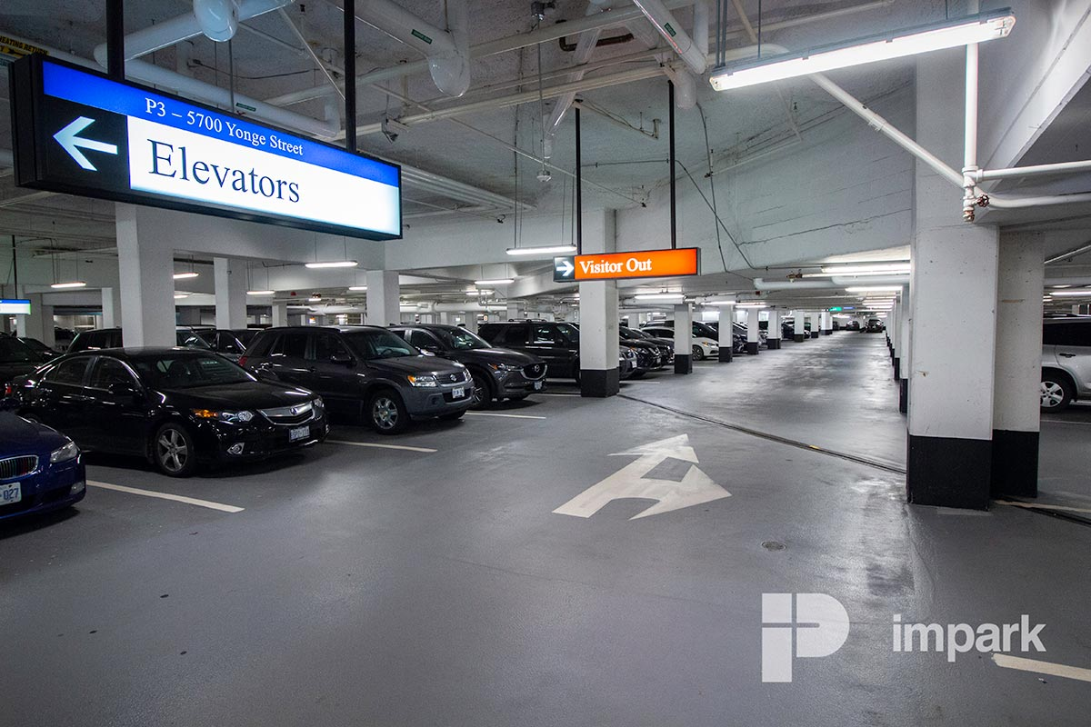 North American Centre Parking Garage | Toronto Parking | Impark