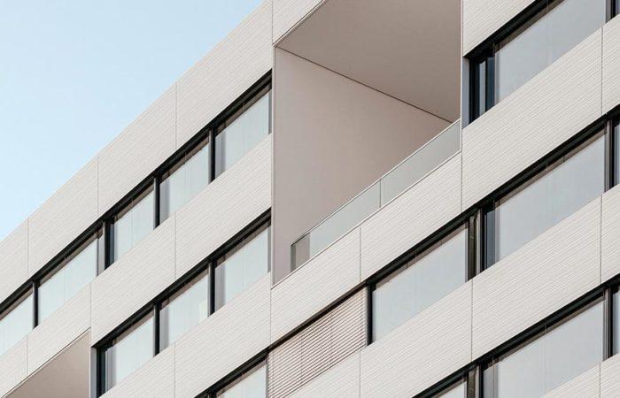 Exterior shot of Mount Sinai Hospital in Toronto, Canada.